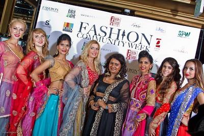 ViBha's fashion show at Fashion Community Week 2014!!