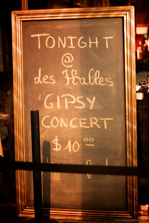 Gypsy Night at Les Halles