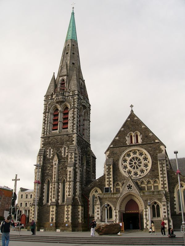 Christchurch is the biggest city on New Zealand's south island.