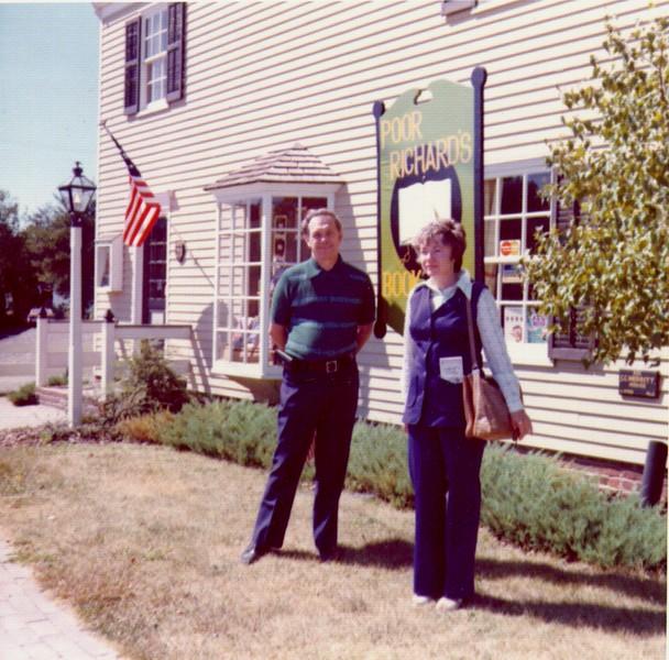 Wayne & Bonnie at Williamsburg, VA 9-73.jpg