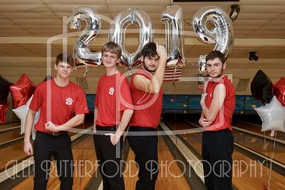 WHS Bowling Senior Night '19