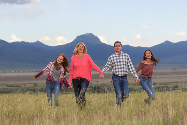 Buxton Family Portraits - Ennis, MT