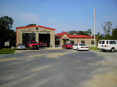 Day Nine - Breakfast at Fire Station, Poplarville, MS