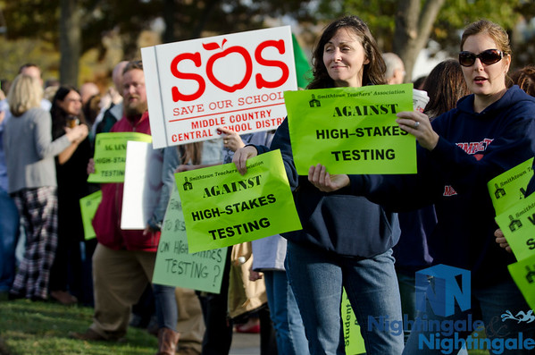 LIPC Rally at Senator Flanagan's Office