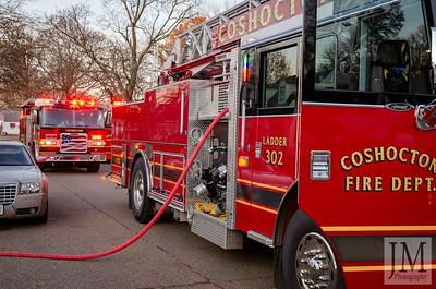 12-07-19 Coshocton FD - Kitchen Fire