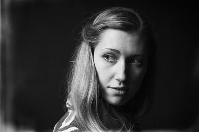 Черно-белый портрет / Monochrome portrait