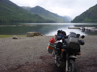 2012 June Northern Vancouver Island Ride ~ Empty roads & even emptier beaches