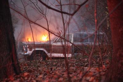 Ronbout Car Fire - Nov. 21, 2009