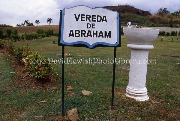 PANAMA, Panama City. Jewish sector, Cemetery Jardines de Paz. (2008)