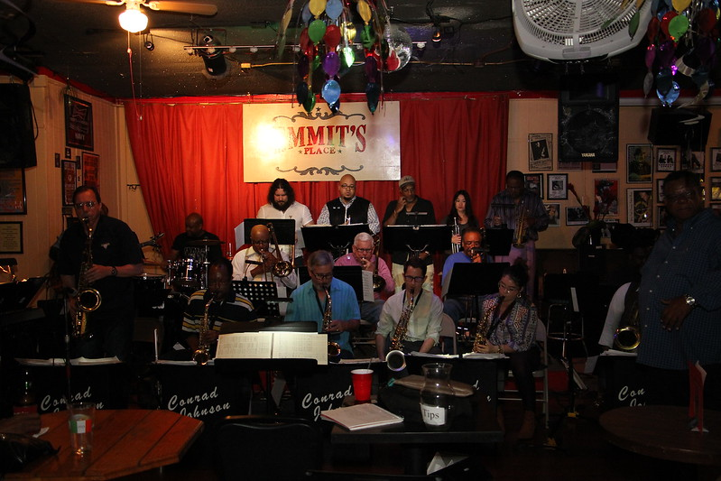 Conrad Johnson Big Band Rehearsal Emmits 201702
