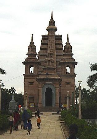 Buddhist temple, Sarnast, India