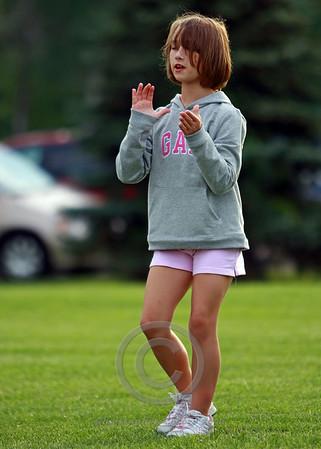 Junior Pee Wee Cheerleading Practice 2008