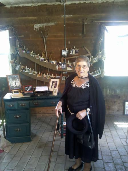 Pedro's grandma, visiting from Portugal.