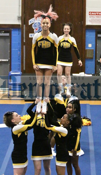 Monticello Cheer competition
