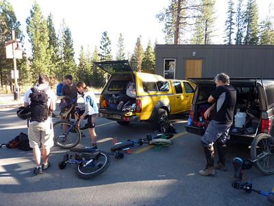 California Mountain Unicycle Weekend 2009