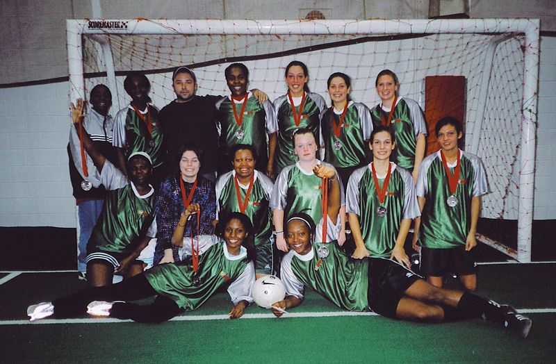 FALL INDOOR DIVISION I FINALISTS - GREEN GIANTS