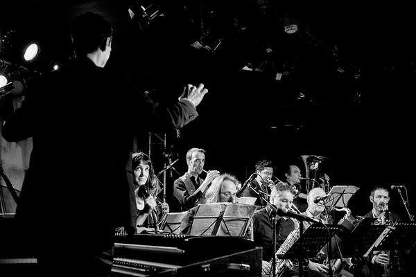 """Pierre de Bethmann """"Medium Ensemble"""" au New Morning le 21 janvier 2017"""