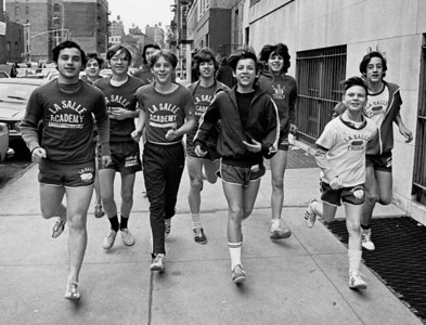 1st week of March, 1972. Track practice, frosh field in gym.