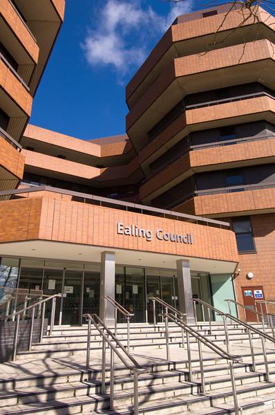 Ealing Council building, Ealing, W5, London, United Kingdom