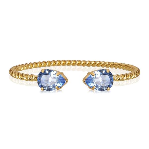 Mini Drop Bracelet / Light Sapphire
