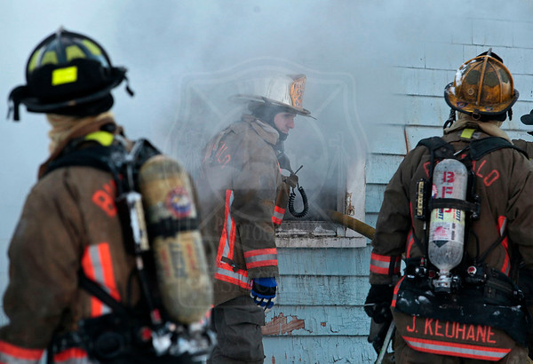 Buffalo, NY - February 7, 2014 - Working Fire - 460 Leroy Avenue
