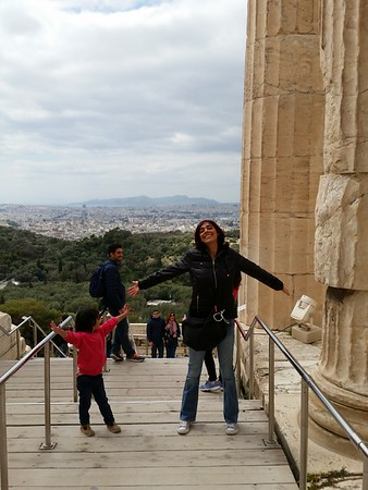 Our first time in Greece Athens March-April 2017