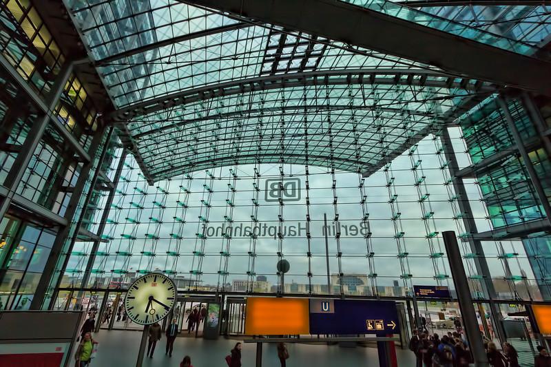 Inside Looking Out (Original View), Berlin Hauptbahnhof