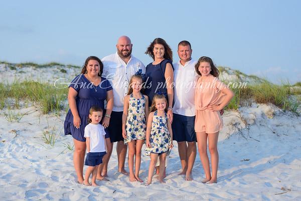 The Roberts family     Panama City Beach