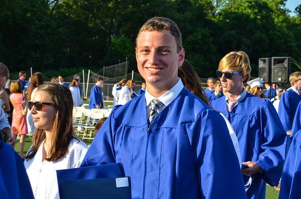 DHS Graduation  6-18-14