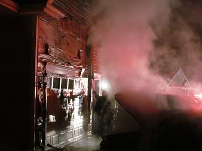 2/04/2011 - Car Fire W/Damage to house