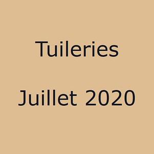 Tuileries Juillet 2020