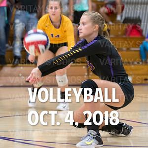 Volleyball Oct. 4, 2018