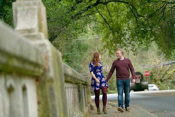 Jessica and Conor Engagement @ Henry Cowell, Feton