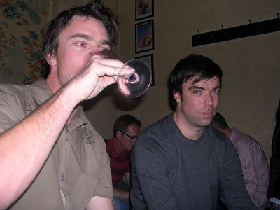 Farewell drinks, Melbourne 2007