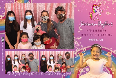 Jacienne 5th Birthday (LED Dazzle Photo Booth)