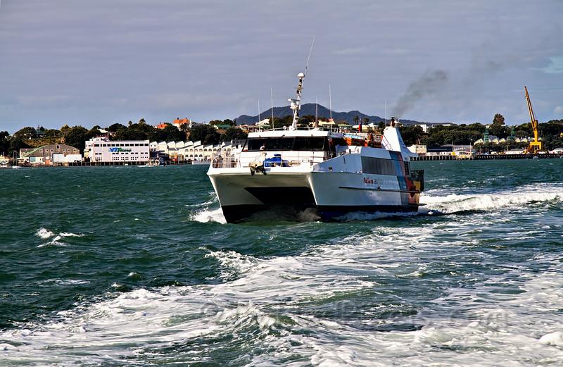 Fullers Seaflyte Crossing Waitemata Harbour