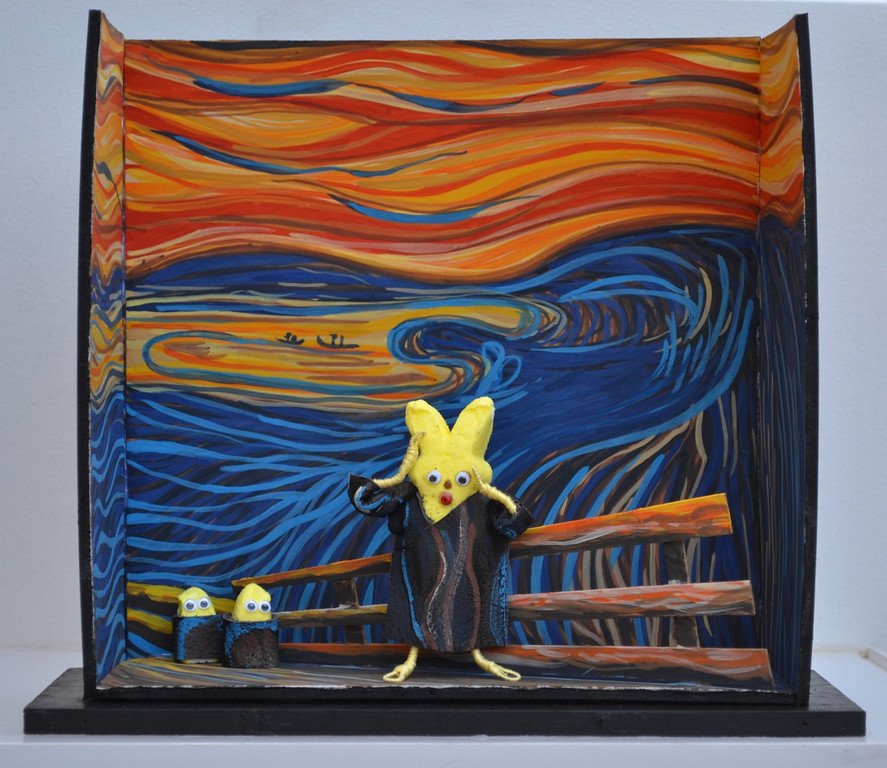 ". ""The Screep by Edveep Munch,\"" by Amy Zschaber, Canton, Ga."