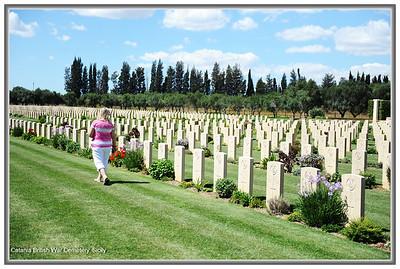 Catania British War Cemetery, Sicily