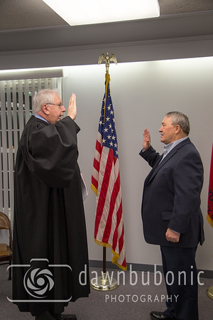 Perry Swearing in Dec. 2015