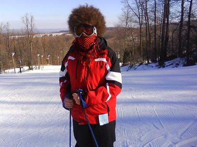 Skiing at Roundtop