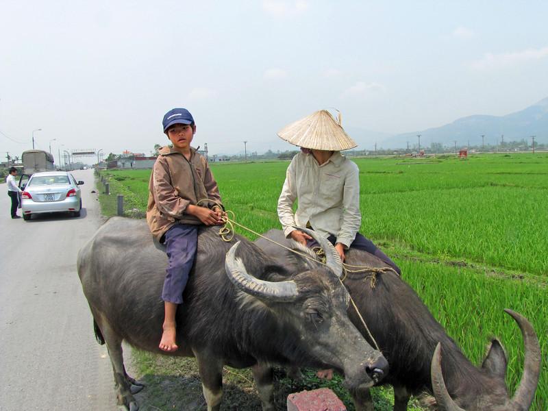 12-On the road to Ha Long. The cap reads Saigon Tourist