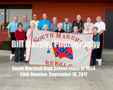 South Marshall High School Class Of 1959 58th Reunion, September 16, 2017