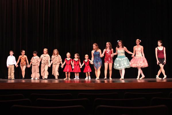 Modern Dance Arts Recital 2012