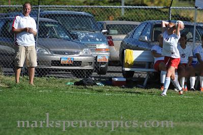 Soccer Girls Springville vs SFHS 2010