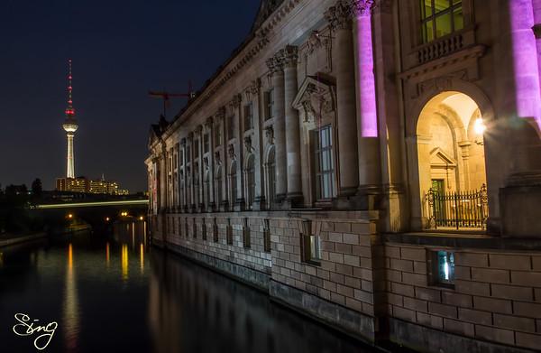 Bode Museum By Night. Berlin, Germany