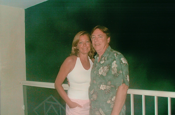 St. Maarten Sept 2005 Wendy & Bill