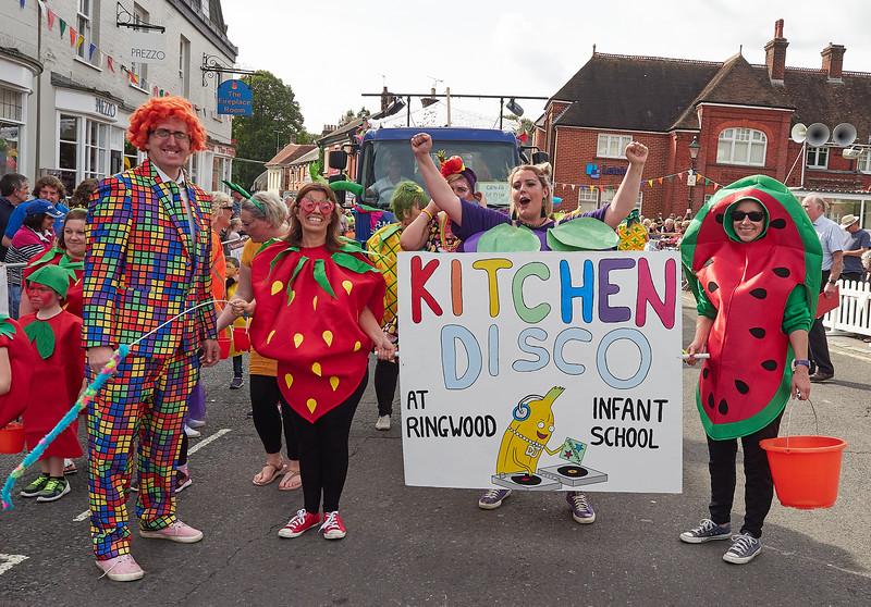 Ringwood Carnival procession 2018