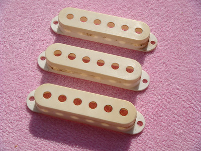 1958 Fender Stratocaster pickup covers