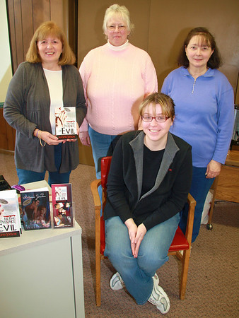 Author Autumn Jordon, Black Diamond Writer's Group, Public Library, Tamaqua (2-18-2012)