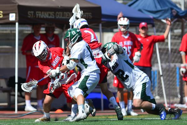Coronado Lacrosse vs St Ignatius, 3-14-15